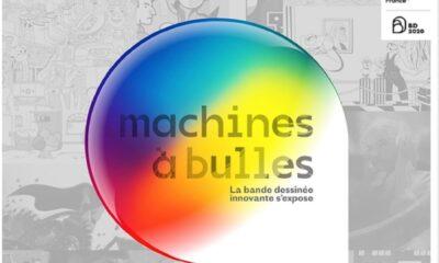 L'exposition Machines à bulles : renouvelle les codes du 9e art